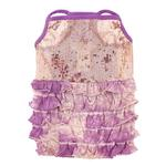 View Image 1 of Bling it On Sequin Tank Dog Dress by Oscar Newman - Purple