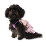 View Image 3 of Bling it On Sequin Tank Dog Dress by Oscar Newman - Purple
