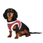 View Image 4 of Blitzen Dog Harness Vest By Puppia - Red Plaid