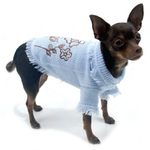 View Image 3 of Blooming Cute Dog Sweater By Truly Oscar