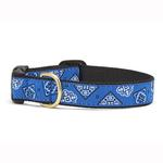 View Image 1 of Blue Bandana Dog Collar by Up Country