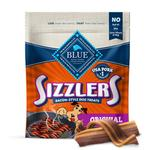 View Image 1 of Blue Buffalo Sizzlers Dog Treat - Original Bacon Style