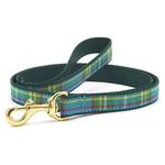 View Image 1 of Kendall Plaid Dog Leash by Up Country