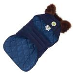 View Image 2 of Blue Velvet Dog Coat by Up Country