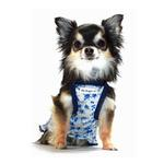 View Image 3 of Blue Rose Dog Dress by Hip Doggie