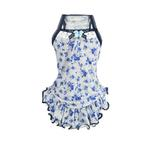View Image 1 of Blue Rose Dog Dress by Hip Doggie