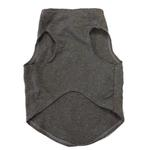 View Image 2 of Blue Studded Motorcycle Dog Tank by Daisy and Lucy - Dark Heather Gray