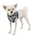 View Image 2 of Bobby Adjustable Dog Harness by Puppia - Navy Camo