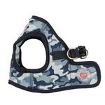 View Image 3 of Bobby Dog Harness Vest by Puppia - Navy Camo