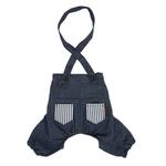 View Image 1 of Bobby Dog Suspender Pants by Puppia - Navy
