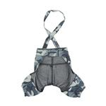 View Image 2 of Bobby Dog Suspender Pants by Puppia - Navy Camo