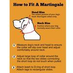 View Image 3 of Dakota Rose Wide Martingale Dog Collar by Diva Dog