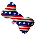 View Image 1 of Bone Dog Toy - Stars and Stripes