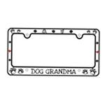 View Image 2 of Bone Shaped License Plate Frame - Dog Grandma