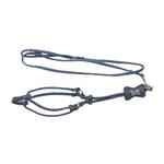 View Image 1 of Bone Step-In Dog Harness by Cha-Cha Couture - Matte Light Blue