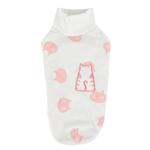 View Image 1 of Boo Turtleneck Cat Shirt by Catspia - Ivory