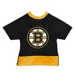 View Image 1 of Boston Bruins Mesh Dog Jersey - Black with Yellow Trim