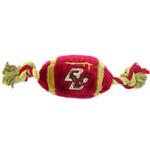 View Image 1 of Boston College Eagles Plush Football Dog Toy