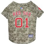 View Image 1 of Boston Red Sox Dog Jersey - Camo