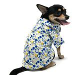 View Image 1 of Bubble Collared Dog Shirt by Dogo