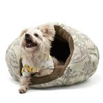 View Image 1 of Burger Pet Bed by Dogo - Baroque