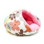 View Image 2 of Burger Pet Bed by Dogo - Color Flower