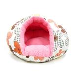 View Image 1 of Burger Pet Bed by Dogo - Color Flower