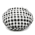 View Image 4 of Burger Pet Bed by Dogo - Checkers Black