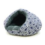 View Image 1 of Burger Pet Bed by Dogo - Modern Navy