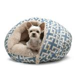 View Image 1 of Burger Pet Bed by Dogo - Geometric