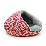 View Image 2 of Burger Pet Bed by Dogo - Modern Red