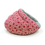 View Image 4 of Burger Pet Bed by Dogo - Modern Red