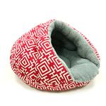 View Image 5 of Burger Pet Bed by Dogo - Modern Red