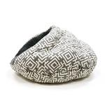 View Image 3 of Burger Pet Bed by Dogo - Modern Gray