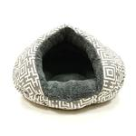 View Image 2 of Burger Pet Bed by Dogo - Modern Gray