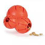 View Image 2 of Busy Buddy Sportsmen Barnacle Dog Toy - Blaze Orange