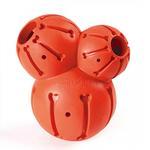 View Image 1 of Busy Buddy Sportsmen Barnacle Dog Toy - Blaze Orange