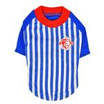 View Image 1 of Striker Soccer Dog Jersey by Puppia - Royal Blue