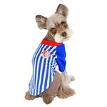 View Image 5 of Striker Soccer Dog Jersey by Puppia - Royal Blue