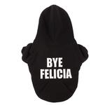 View Image 1 of Bye Felicia Thermal Lined Dog Hoodie by fabdog® - Black