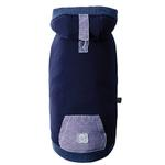 View Image 1 of Cabin Dog Hoodie by GF Pet- Navy