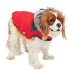 View Image 4 of Cabin Elasto-fit Dog Jacket - Red
