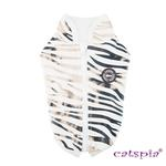 View Image 1 of Calico Cat Vest by Catspia - Off White