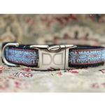 View Image 2 of Calligraphy Brown Dog Collar and Leash Set by Diva Dog
