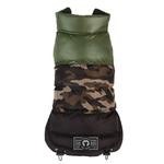 View Image 1 of Camo Colorblock Puffer Dog Coat by fabdog®