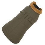 View Image 1 of Chester Barn Dog Coat by Up Country - Green