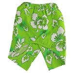 View Image 1 of Cancun Dog Swim Trunks - Green