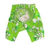 View Image 2 of Cancun Dog Swim Trunks - Green