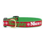 View Image 1 of Naughty and Nice Dog Collar by Up Country