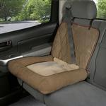 View Image 1 of Car Cuddler Dog Seat Cover - Brown
